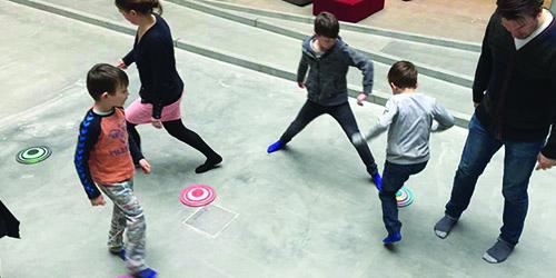 bevægelse med hopspots