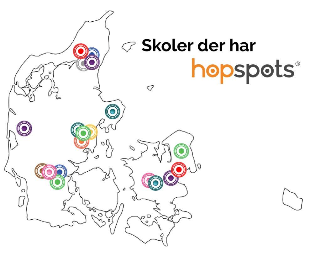 hopspots i Danmark