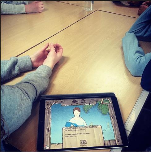 Hopspots interaktiv spil den øde ø