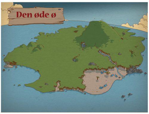 Release-party og test af Den Øde Ø