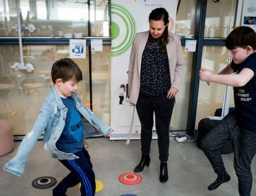 Hopspots connects play with learning in primary schools, at nursing homes – and now also in the Middle East
