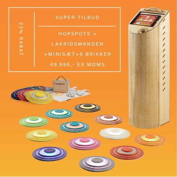 Hopspots Super-tilbud