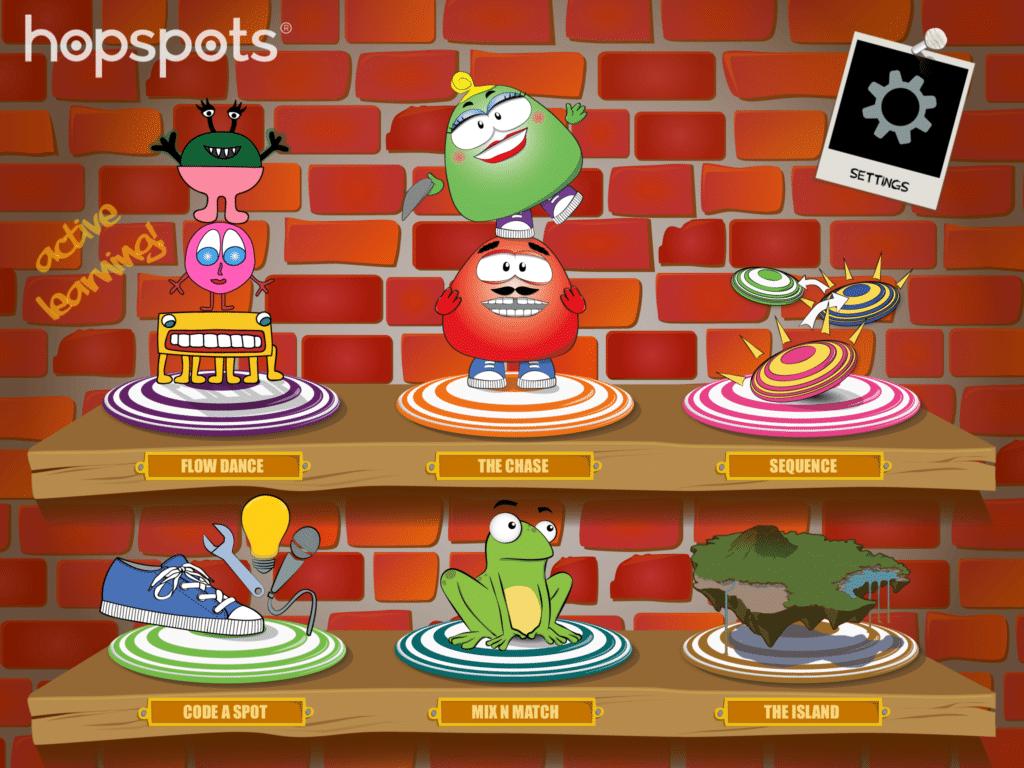 Main Menu Hopspots App