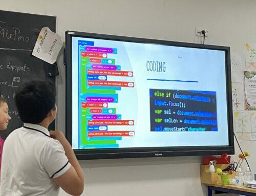 Coding Class med Hopspots code:kit