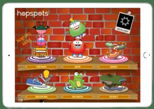 iPad med Hopspots App
